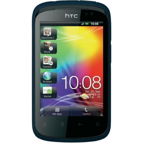 htc explorer a310e blue blau handy ohne vertrag smartphone. Black Bedroom Furniture Sets. Home Design Ideas