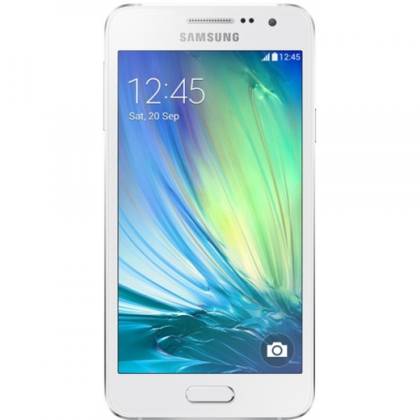 samsung galaxy a3 a300f 16gb white lte android smartphone. Black Bedroom Furniture Sets. Home Design Ideas