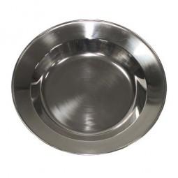 Edelstahl-Suppenteller