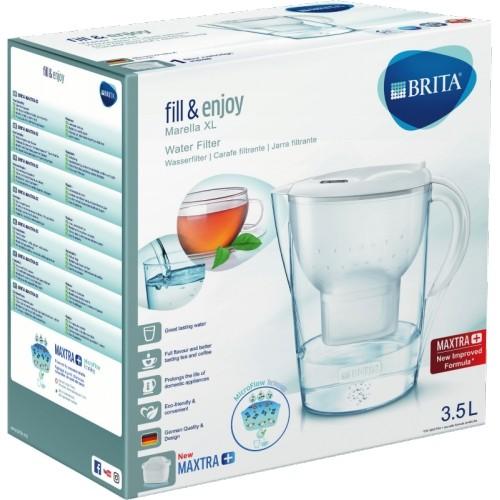 Brita Marella XL MAXTRA+ Weiss Wasserfil #1126926_1