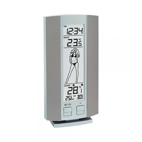 Technoline WS 9750-IT Silber-Grau Wetter #1026883_1