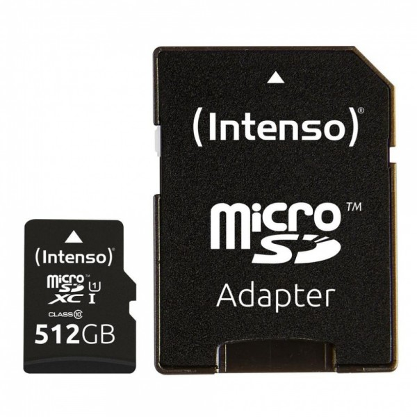 Intenso microSDXC Card Premium 512GB #109070