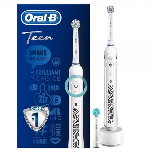 Oral-B Teen White Weiss Elekrische Zahnb #1213948_1