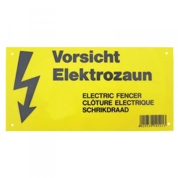 Warnschild für Weidezäune Elektrozäun #58058038_1