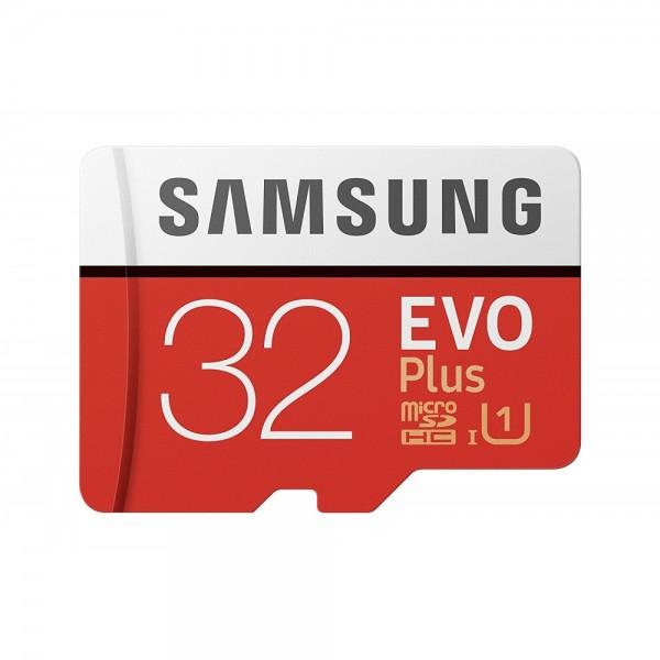 Samsung EVO+ 32GB microSDHC Card 2017 +  #1144251_1