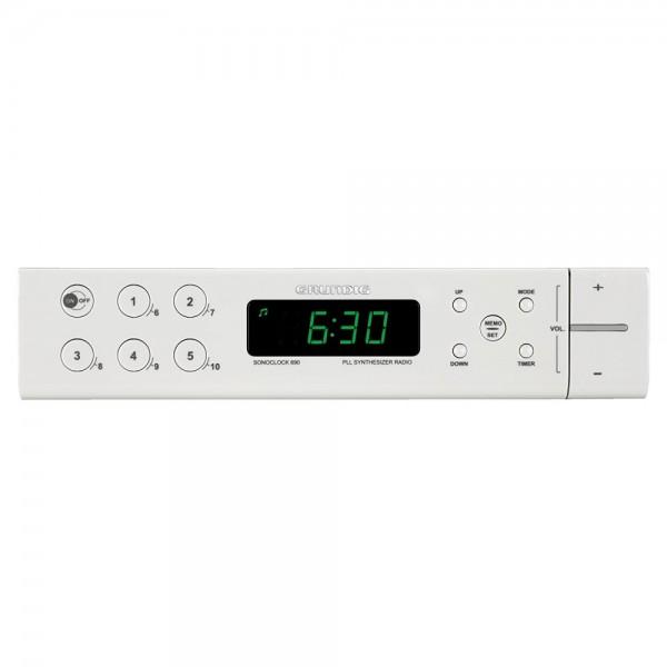 Grundig Sonoclock 690 Kuechenradio Weiss #0372484_1