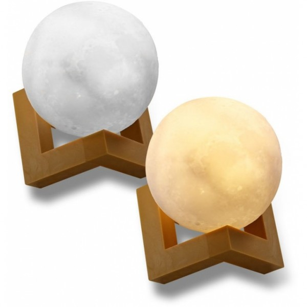EAXUS LED Moonlight mit 3D MondPrinting  #189219