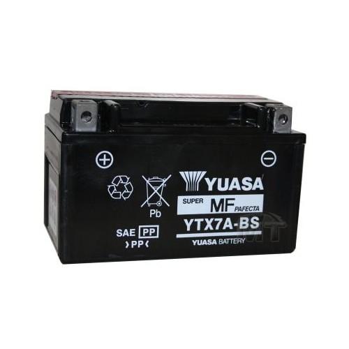 YUASA MOTORRAD-BATTERIE YTX7A-BS YTX 7A- #400457_2