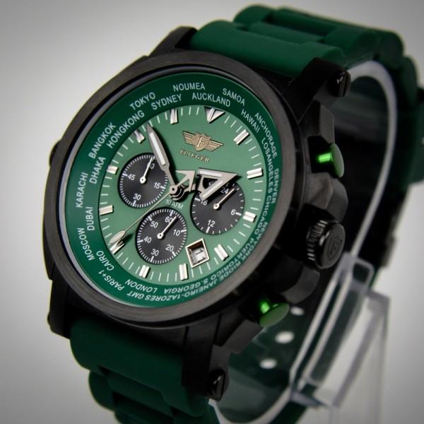 """Armbanduhr, """"FLIEGER"""" Fliegeruhr FG62, Chronograph #37865A_1"""