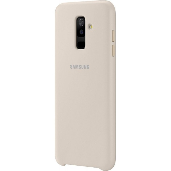 Samsung Dual Layer Cover Galaxy A6 Plus Gold Price Guard