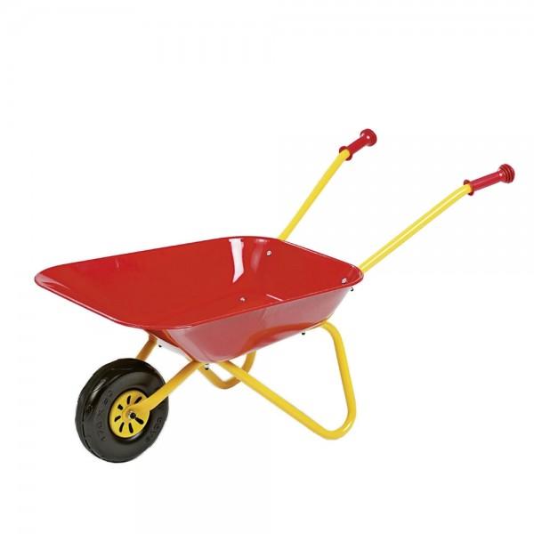 rolly toys schubkarre f r kinder ab 3 jahre sand und garten rot gelb traktoren. Black Bedroom Furniture Sets. Home Design Ideas